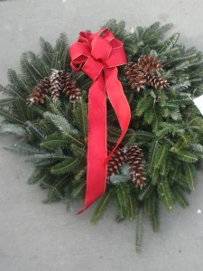 Holiday Wreath 2014