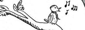 bird song cartoon