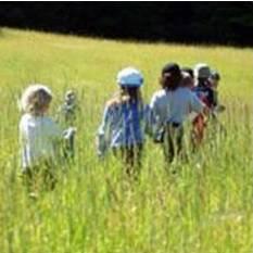 perschoolers in the meadow