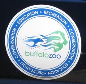 Buffalo zoo logo